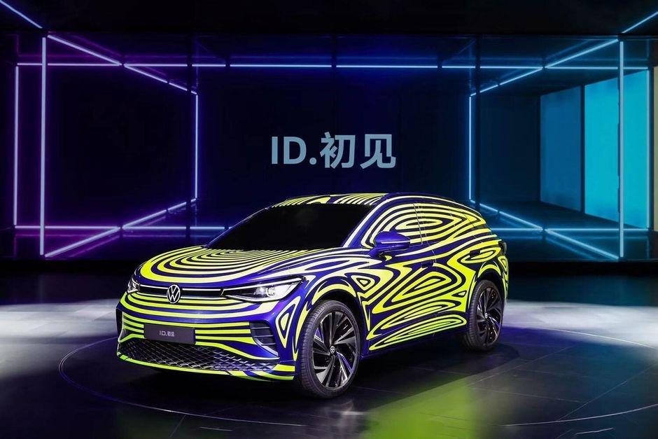 volkswagen id 4 photos provide best look yet at the electric Volkswagen Electric Suv