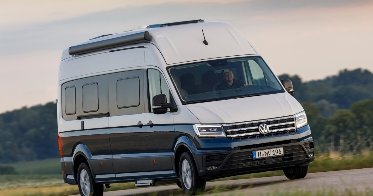 volkswagen prices the grand california camper van and debuts Volkswagen Grand California