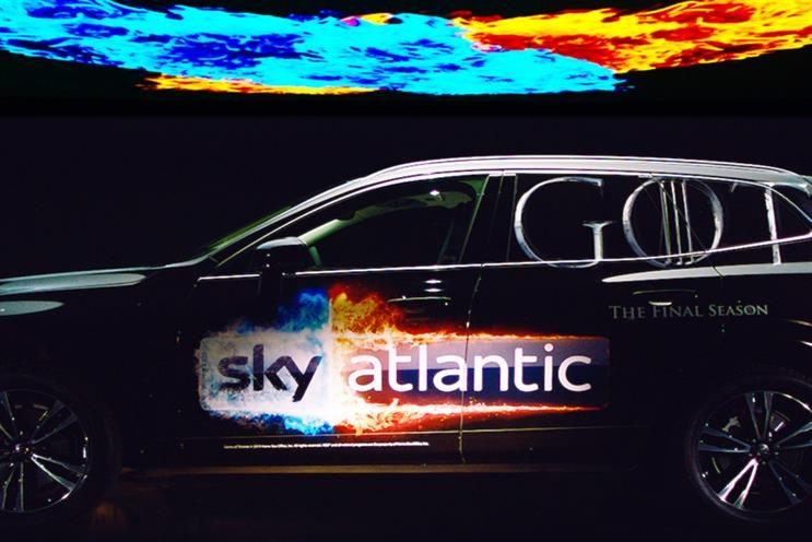 volvo partners sky atlantic for game of thrones tour Volvo Game Of Thrones Competition