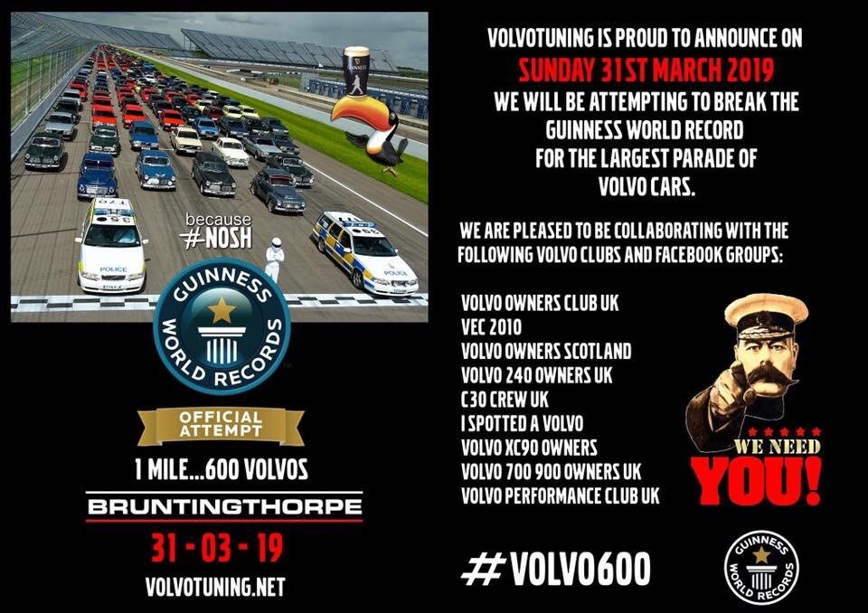 volvo600 hashtag on twitter Volvo World Record Attempt