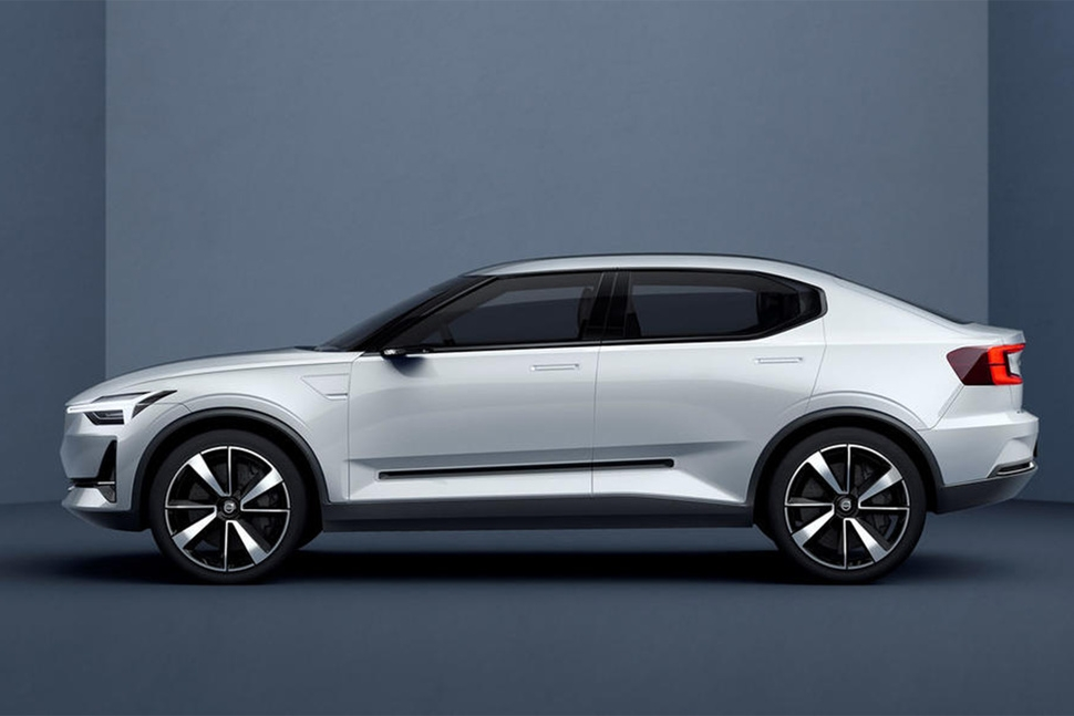 volvos first all electric car will be this sleek and sexy hatc Volvo Goes All Electric In