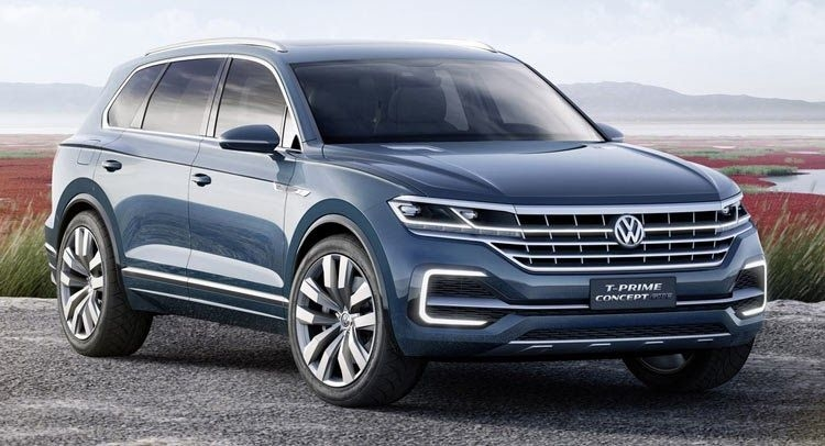 vw t prime concept gte previews new full size suv vw 3rd Volkswagen Full Size Suv