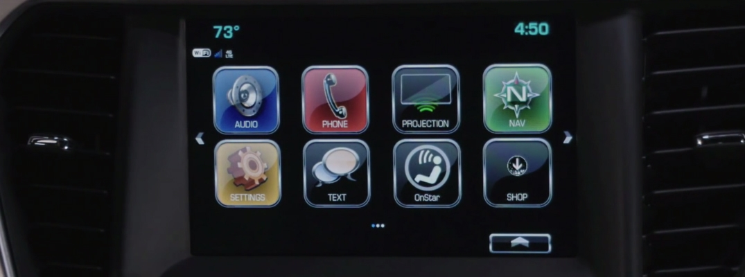what does the shop app do on the gmc infotainment system Gmc Infotainment System