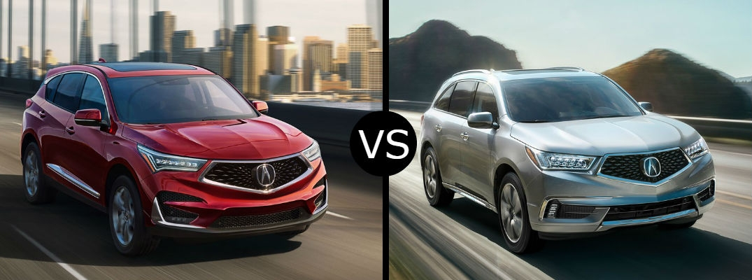 what is the difference between the 2019 acura rdx vs mdx Difference Between 2019 And Acura Rdx