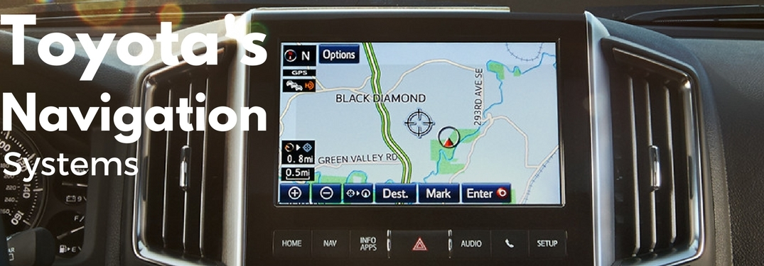 what is toyotas integrated navigation feature Toyota Navigation System