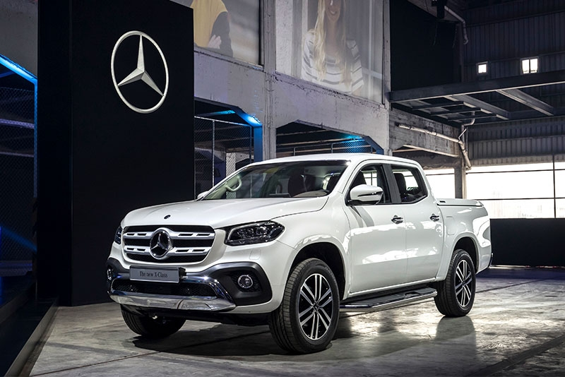 why the mercedes benz x class truck wont come to america Mercedes X Class Pickup