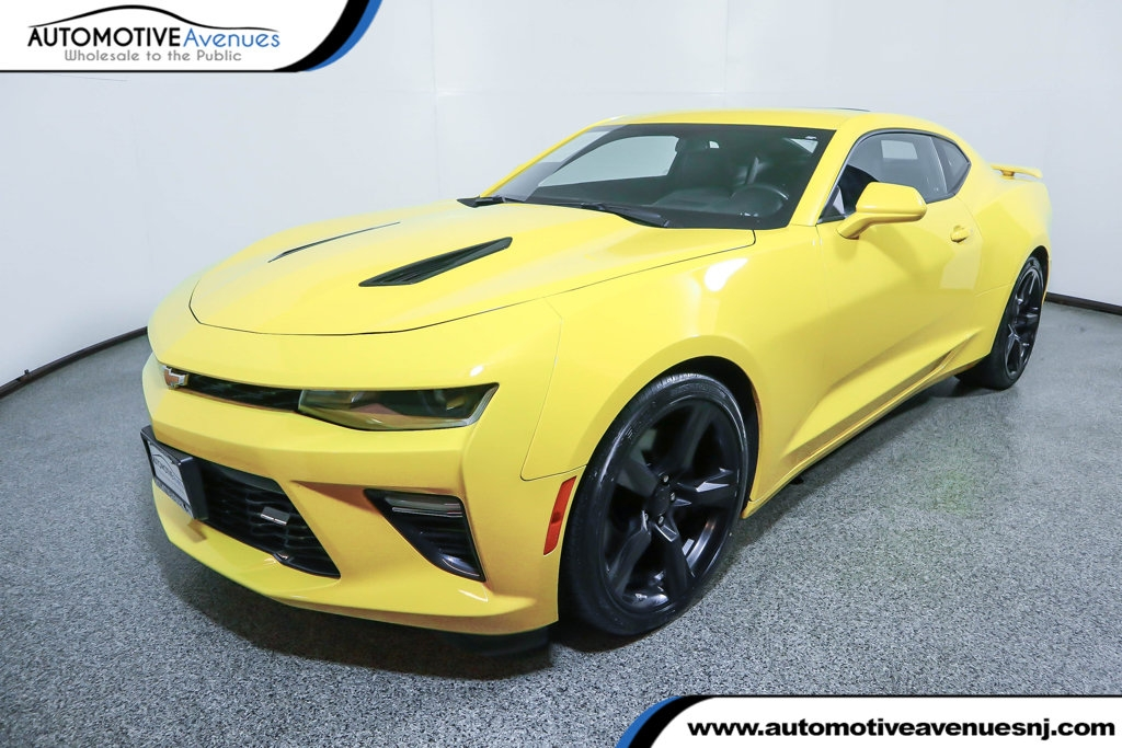 2017 chevrolet camaro 2dr coupe 2ss with power sunroof navigation rear wheel drive coupe Chevrolet Camaro Yellow