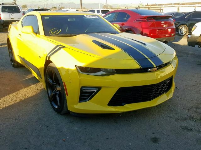 2017 chevrolet camaro ss yellow 1g1fh1r77h0167789 price history history of past auctions Chevrolet Camaro Yellow