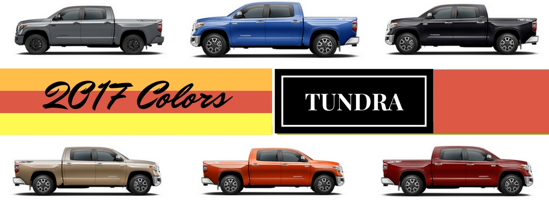 2017 toyota tundra exterior colors and accessories Toyota Exterior Colors