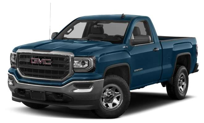 2018 gmc sierra 1500 base 4x4 regular cab 66 ft box 119 in wb pricing and options Gmc Regular Cab Short Bed