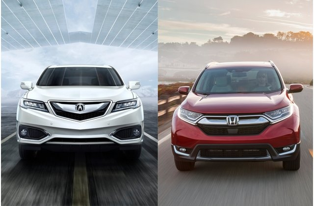 2018 honda cr v vs 2018 acura rdx head to head us news Acura Rdx Vs Honda Crv