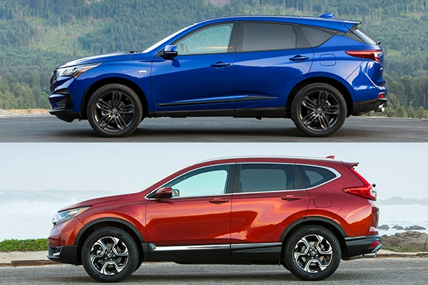 2019 acura rdx vs 2018 honda cr v which is better Acura Rdx Vs Honda Crv