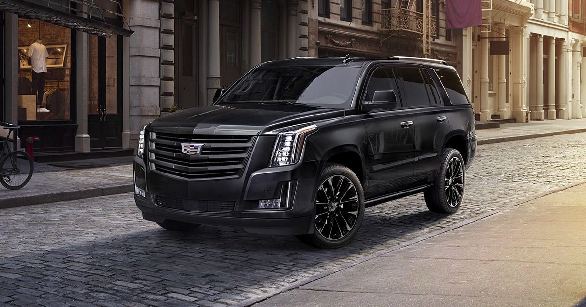 2019 cadillac escalade gets blacked out sport edition Cadillac Escalade Blacked Out