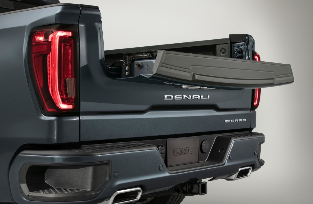 2019 gmc sierra multipro tailgate info availability price Gmc Multipro Tailgate Cost