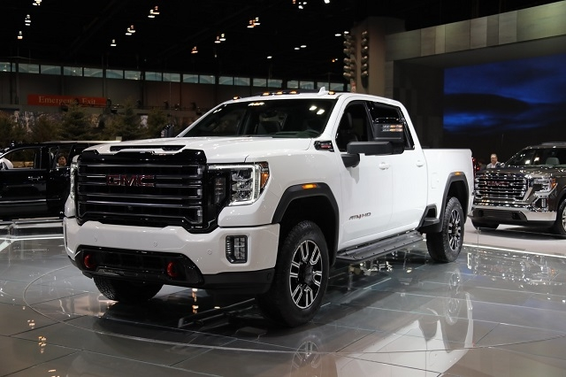 2020 gmc sierra 2500hd at4 off road pickup truck 2020 Release Date For Gmc 2500