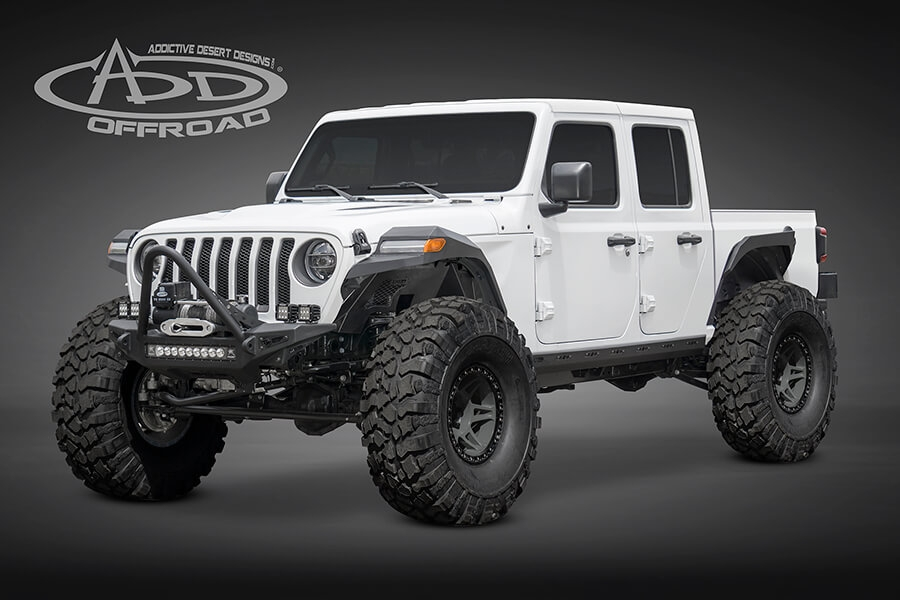 2020 jeep gladiator jt info pricing colors more at add Jeep Gladiator Aftermarket Parts