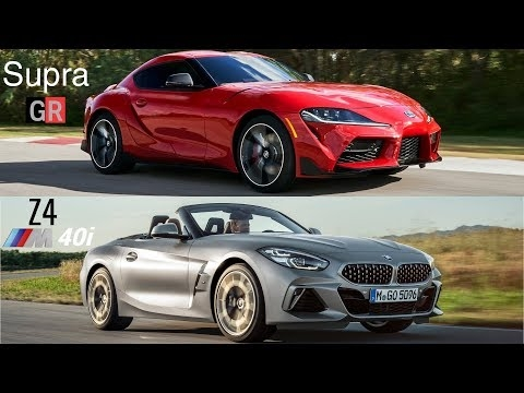 2020 toyota supra vs bmw z4 2019 youtube Toyota Supra Vs Bmw Z4