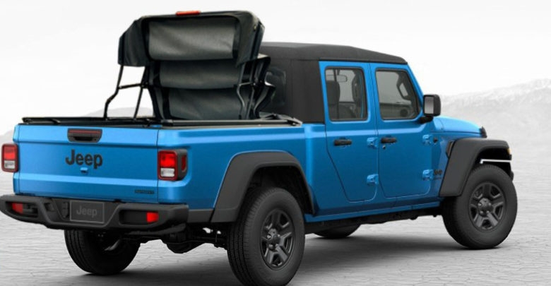 bestop previews a folding soft cover shell topper Jeep Gladiator Aftermarket Parts