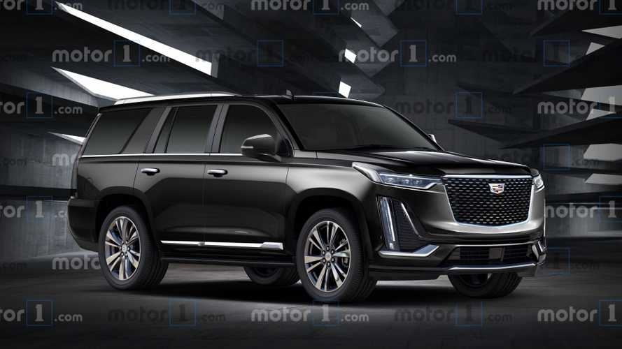 cadillac escalade rendering shows next gens new lines Cadillac Escalade New Body Style