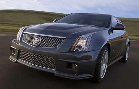 cadillac gets sporty 2009 cadillac cts v with corvette engine Cadillac With Corvette Engine