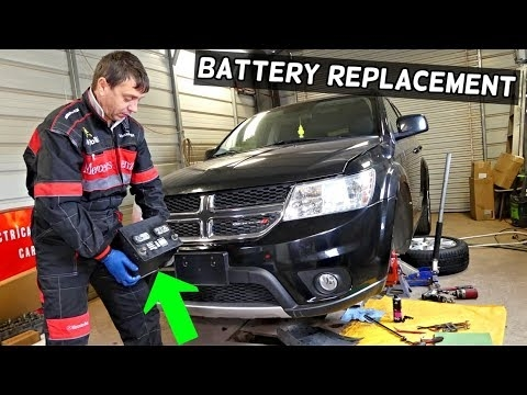 dodge journey battery replacement location fiat freemont Dodge Journey Replacement