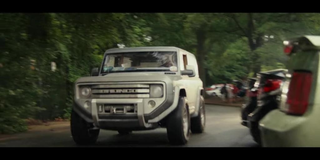 ford bronco featured in film starring the rock news Dwayne Johnson Ford Bronco