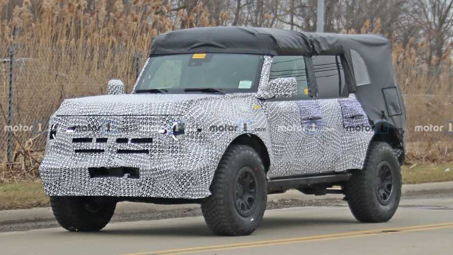 ford bronco reveal set for march smaller bronco sport in april Pictures Of The Ford Bronco