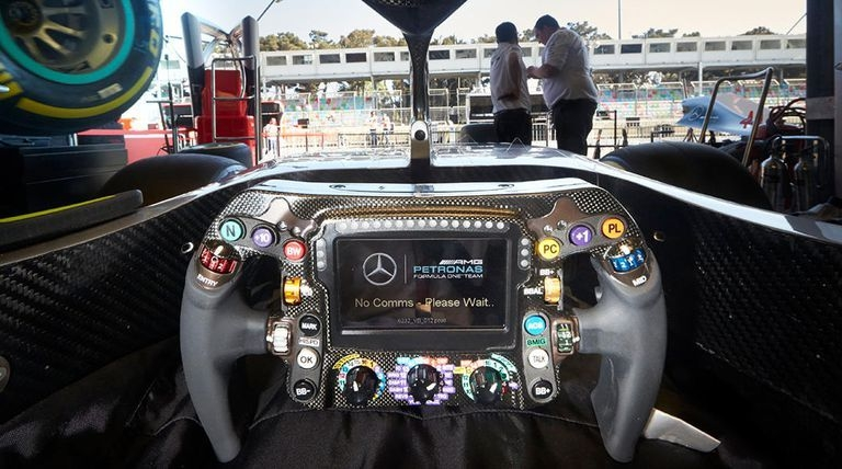 heres what every button on a modern f1 steering wheel does Mercedes F1 Steering Wheel