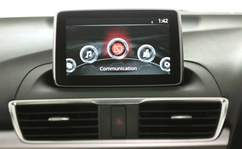 how to soft reset the mazda connect infotainment system Mazda Touch Screen While Driving