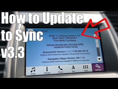 how to update your ford sync 3 to version 3 all 2017 ford Ford Sync 3 Latest Version