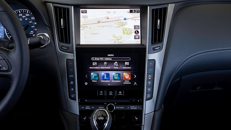 infiniti adds apple carplay and android auto for 2020 in Infiniti Apple Carplay
