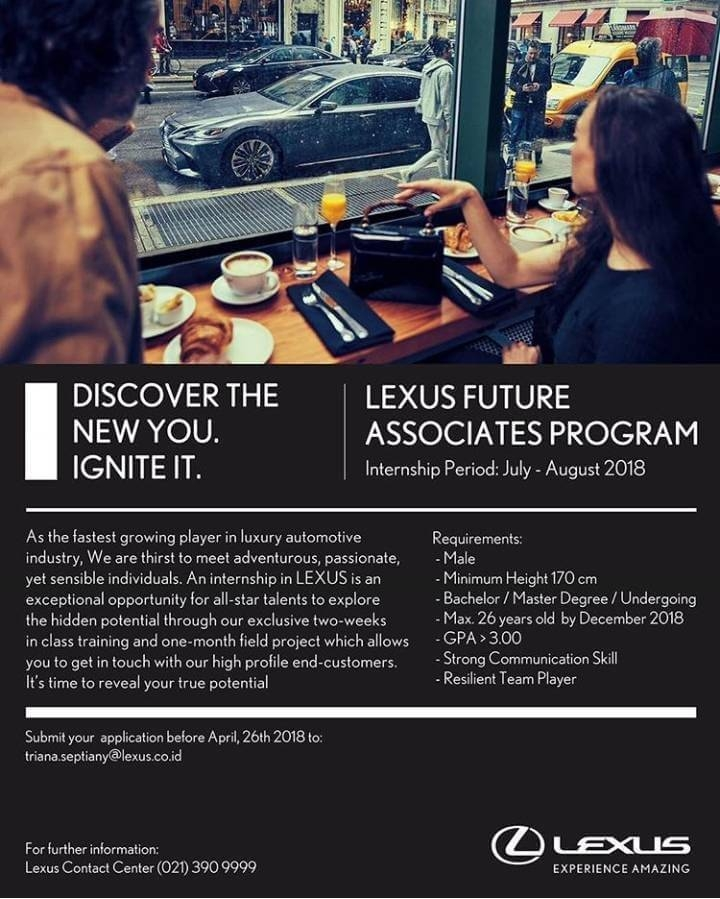 kampus update on twitter lexus future associates program Lexus Future Associate Program