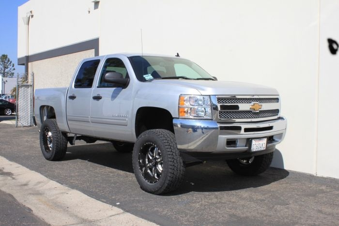 maxtrac 7 lift kit 2007 13 chevy silverado 1500 4x4 k941370 Chevrolet Silverado 1500 Lift Kit