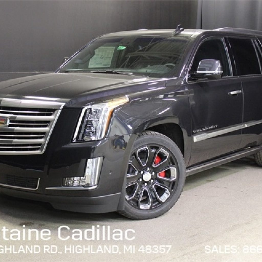 new 2019 cadillac escalade platinum callaway with navigation 4wd Cadillac Escalade Pictures