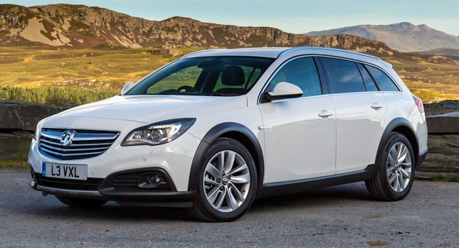 new vauxhall insignia country tourer priced from 25349 Opel Insignia Country Tourer