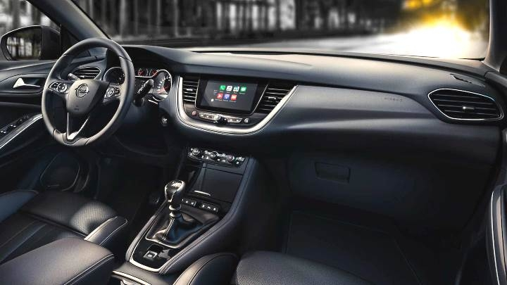 opel grandland x 2018 dimensions boot space and interior Opel Grandland X Interior