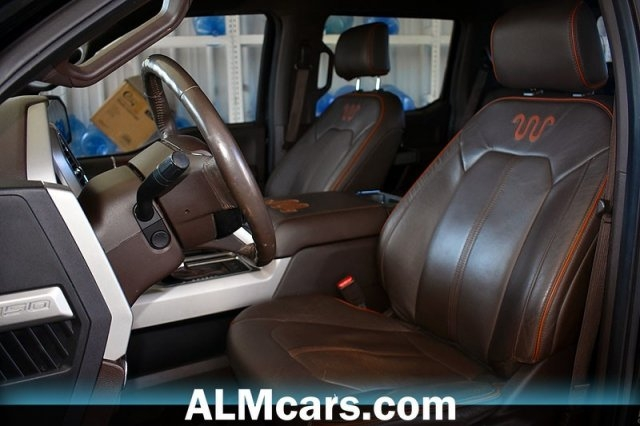pre owned 2016 ford f 150 king ranch with navigation 4wd Ford King Ranch Interior