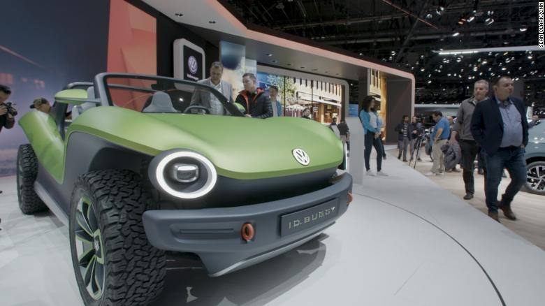 see volkswagens new electric beach buggy Volkswagen Upcoming Models
