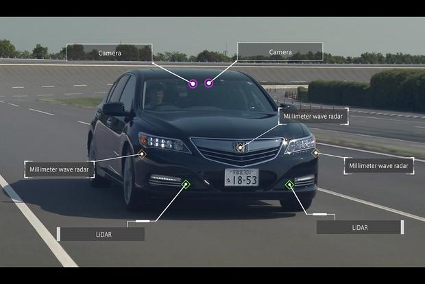 self driving cars honda sets 2020 as target for highly Honda Self Driving Car