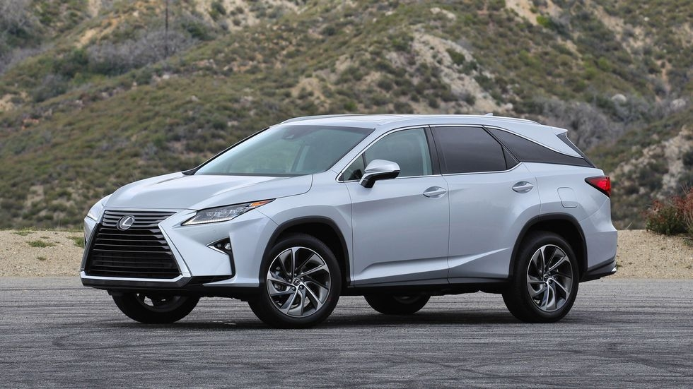 the 2018 lexus rx gets a third row of seats roadshow Lexus With 3rd Row Seating