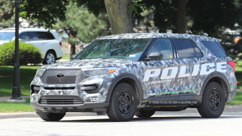 this is the 2020 ford explorer before youre supposed to see it Ford Explorer Jalopnik