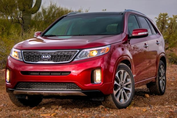 top inexpensive cars with third row seating autotrader Kia With 3rd Row Seating