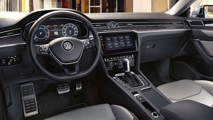 volkswagen arteon 2017 dimensions boot space and interior Volkswagen Arteon Interior