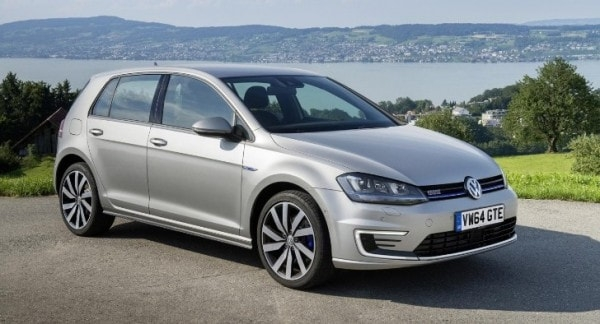 vw golf gte plug in hybrid launched in britain from 28035 Volkswagen Golf Hybrid