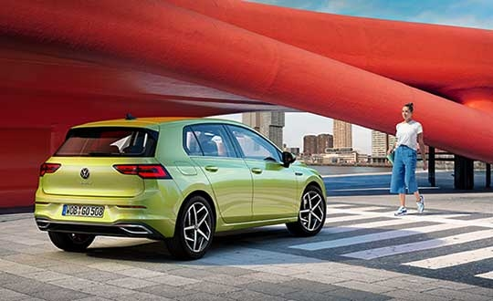 vw golf launches in europe with nxps secure v2x technology Volkswagen Launches In