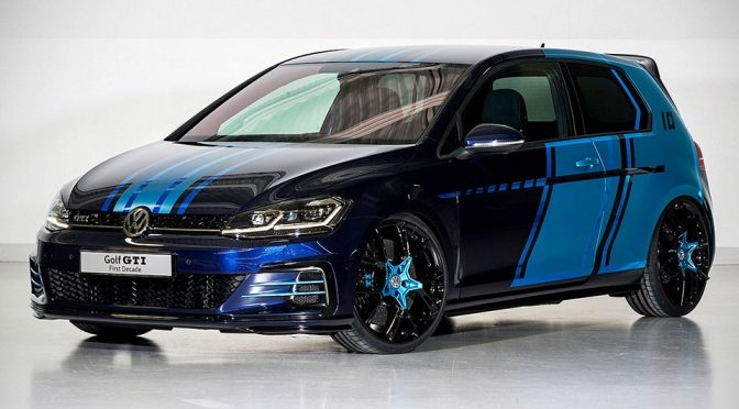 vw has a 400 hp hybrid golf gti with an electric drive that Volkswagen Golf Hybrid
