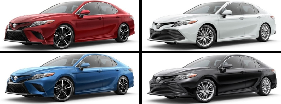 what are the 2019 toyota camry exterior paint color options Toyota Exterior Colors