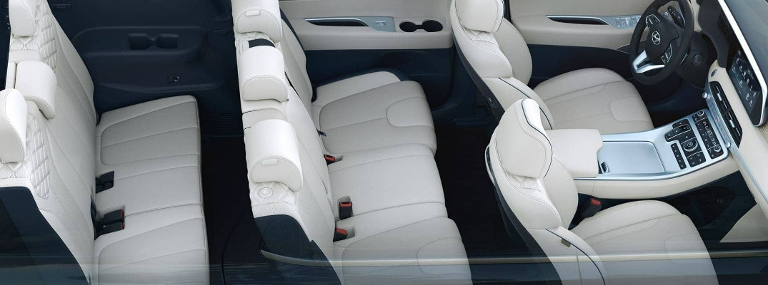 2020 hyundai palisade cabin cargo and seating capacities Hyundai Palisade Interior