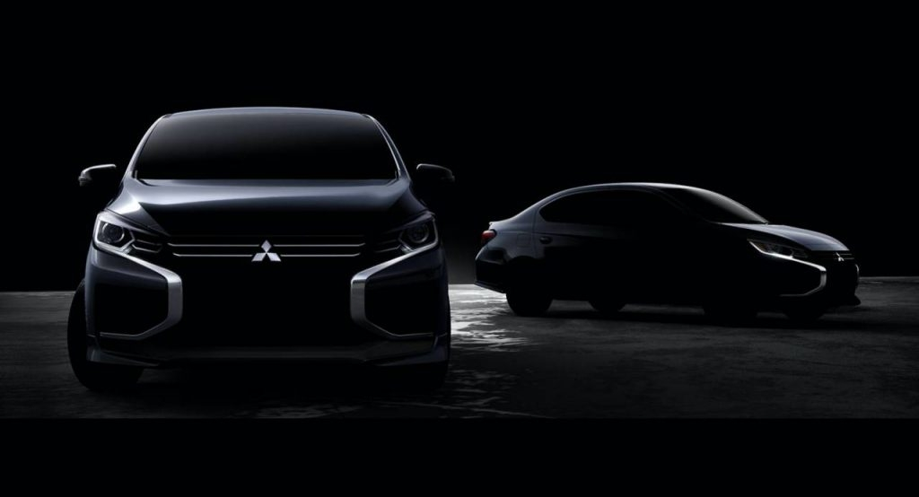 2020 mitsubishi mirage and attrage getting a proper facelift Mitsubishi Space Star Facelift