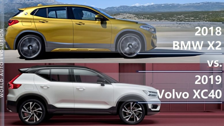 bmw x2 vs volvo xc40 brand new small premium suvs head to head Volvo Xc40 Ground Clearance